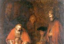 El regreso del hijo pródigo de Rembrandt