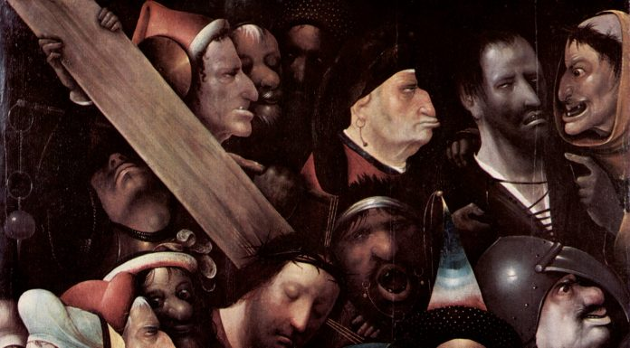 Cristo con la cruz a cuestas