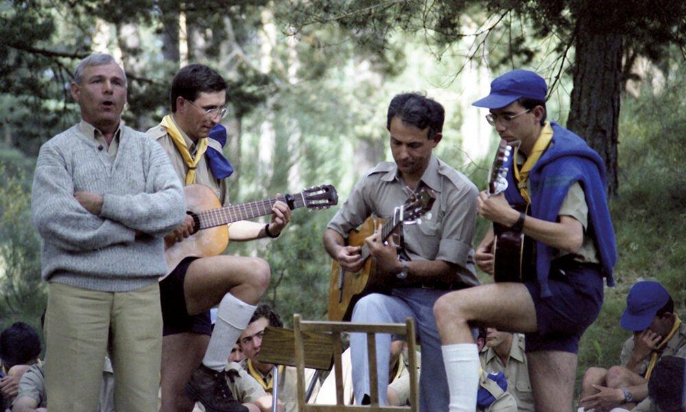 Campamento Santa María de Gredos 1989