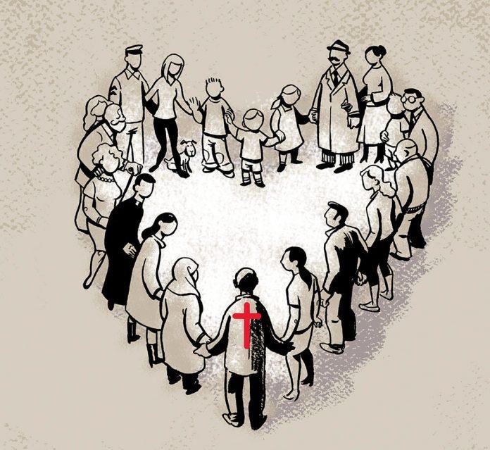 Nos urge el amor (Ilustración: José Miguel de la Peña)