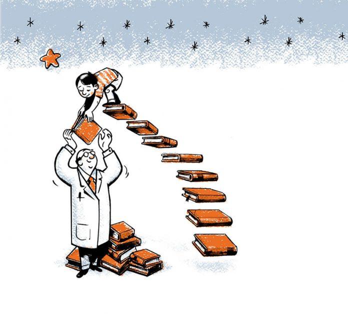 ¿Estudiar o aprender? Ilustración José Miguel de la Peña