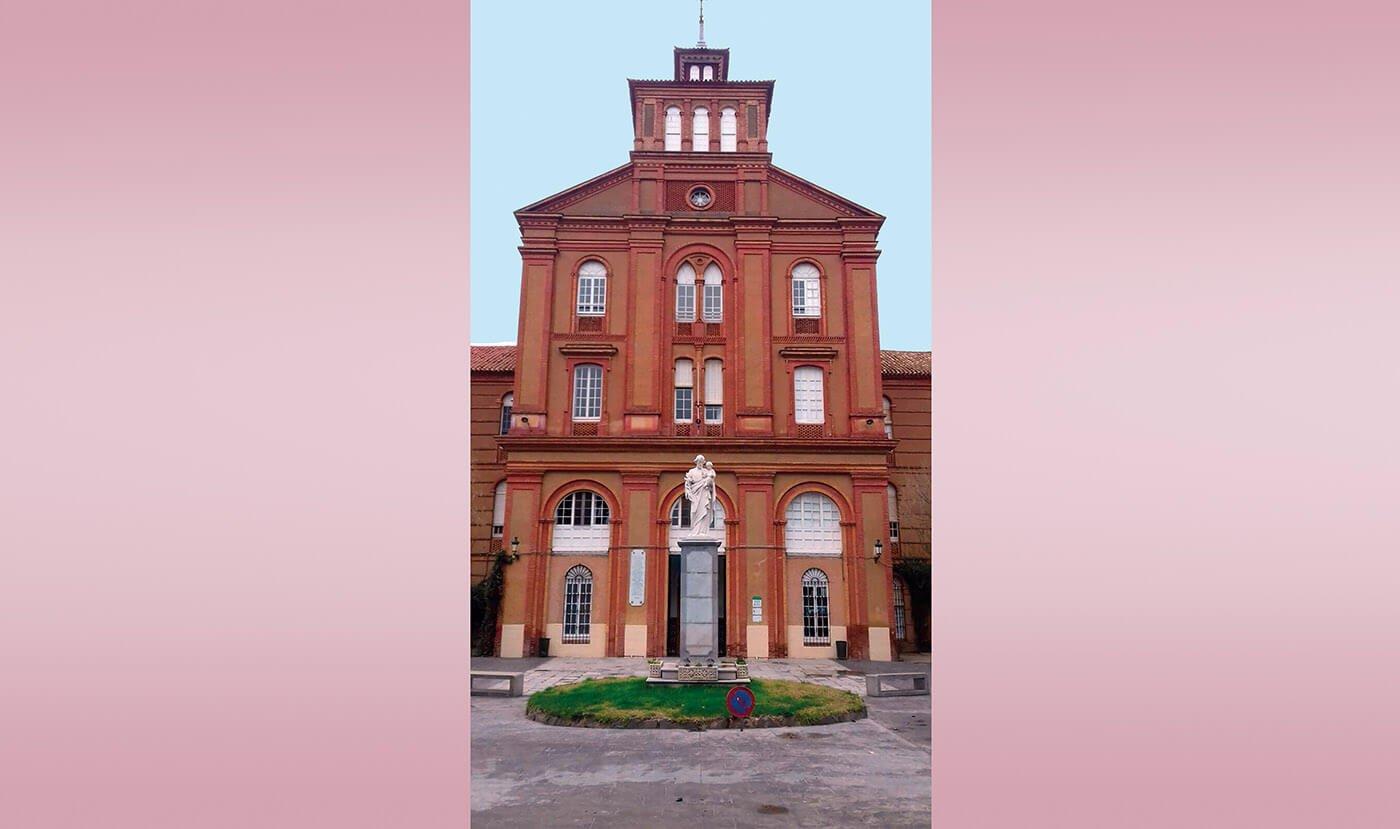 Colegio San José de Villafranca de los Barros (Badajoz)