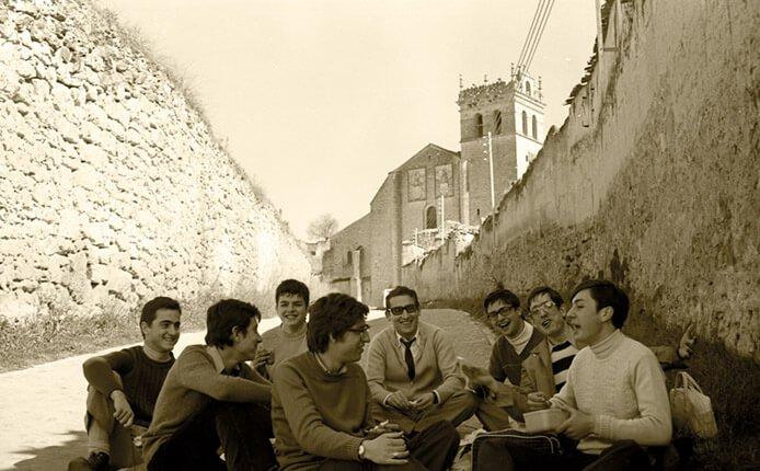 1973 excursión a Segovia