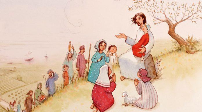 Ilustración del Catecismo de la CEE por José Miguel de la Peña