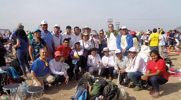 Encuentro con el Papa en Perú