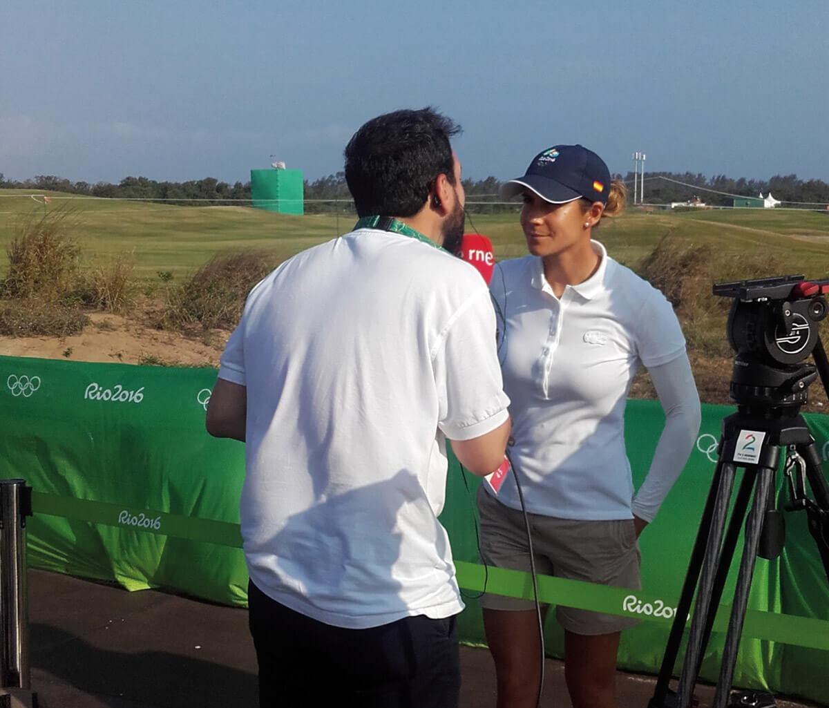 Entrevista a Azahara Muñoz JJOO Rio 2016