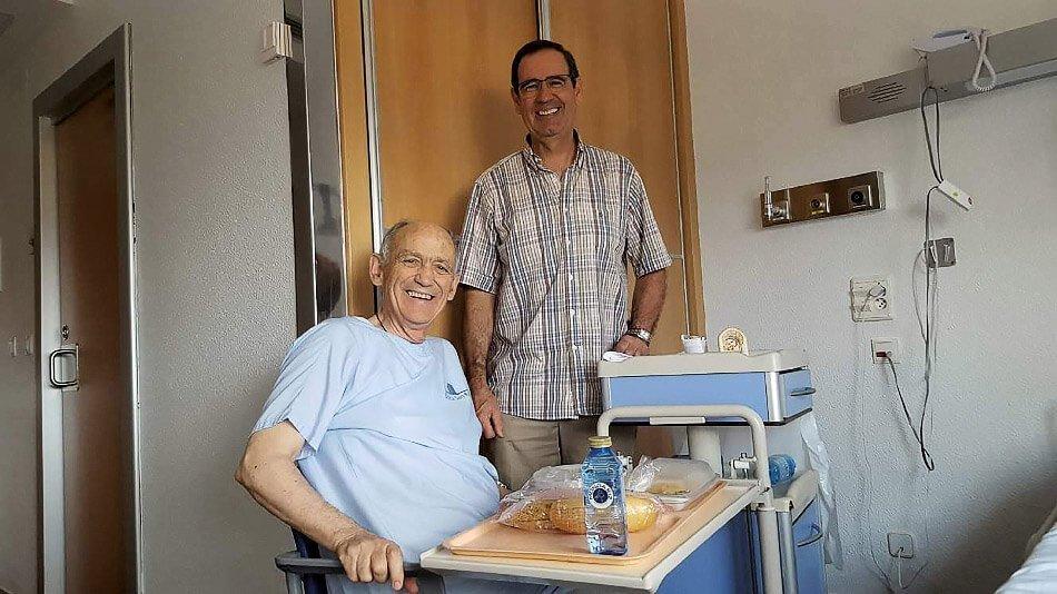 Vicente y José Javier