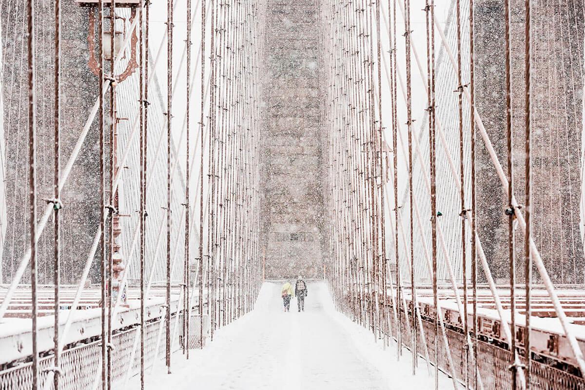Puente de Brooklyn. Autor: Emanuel Hahn