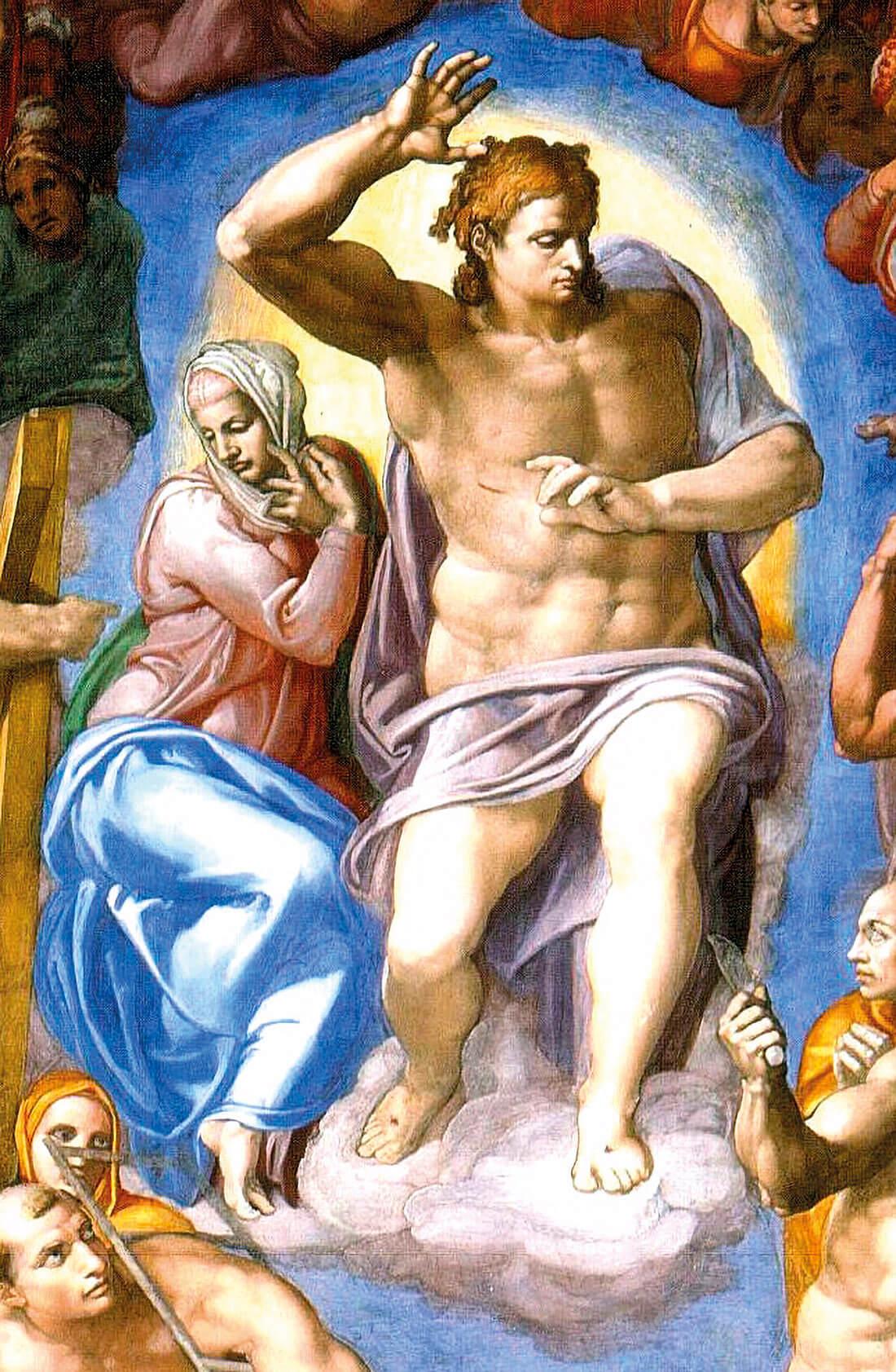 Cristo Juez de Miguel Ángel