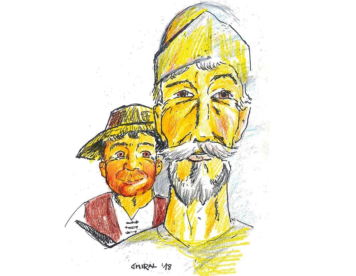Quixote. Ilustración: Juan Francisco Miral