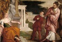 El joven entre la Virtud y el Vicio, VERONÉS, PAOLO, museo del Prado (Madrid)