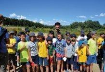 Jóvenes en el Campamento