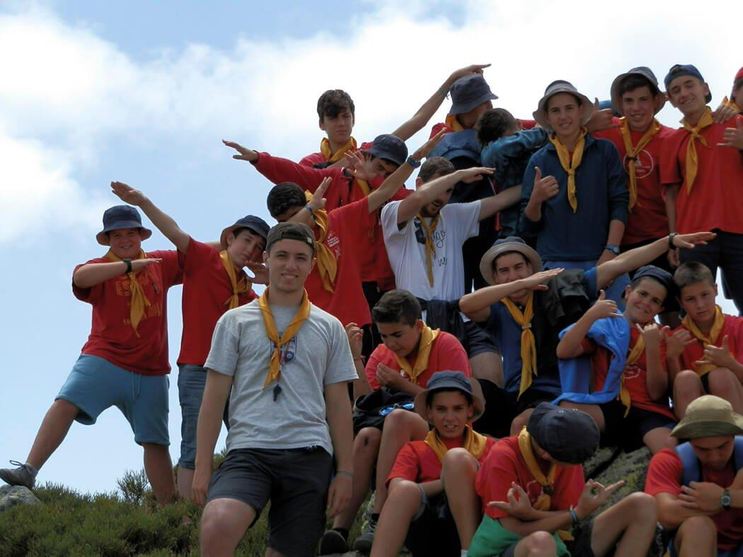 Juveniles en el circo de Gredos