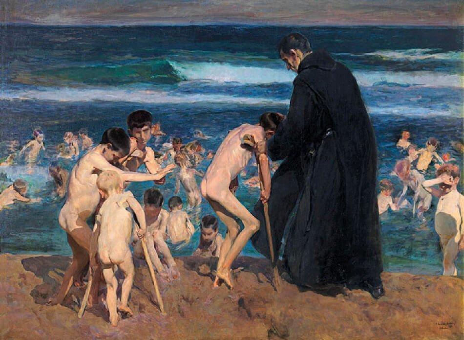 Triste herencia. Joaquín Sorolla, 1899. Colección privada