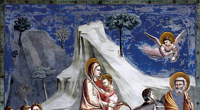 Huida a Egipto, de Giotto