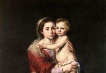 La Virgen de Rosario. Bartolomé Esteban Murillo. Museo del Prado