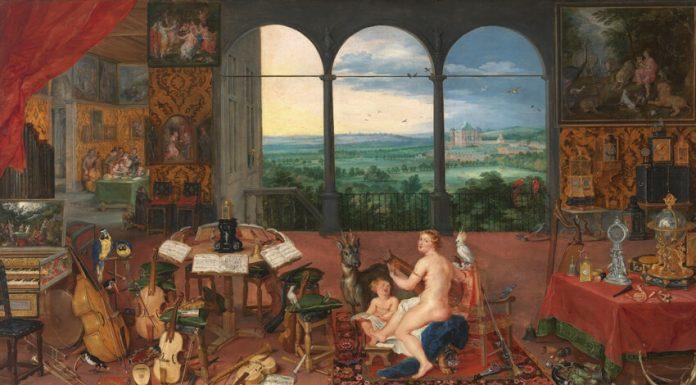 El Oído, Brueghel el Viejo. Museo del Prado