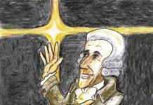 Haydn. Ilustración: Juan Francisco Miral