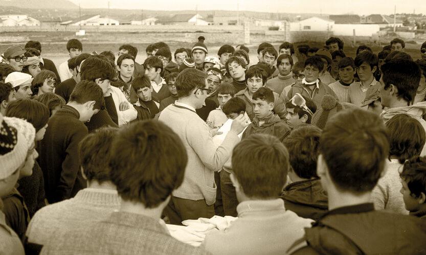 Marcha a los Negrales en 1974