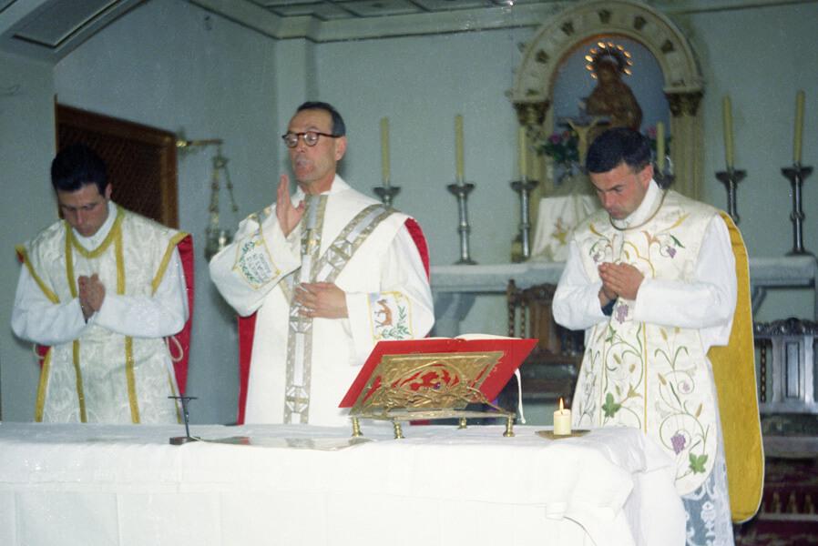 Misa con el P. Tomás Morales
