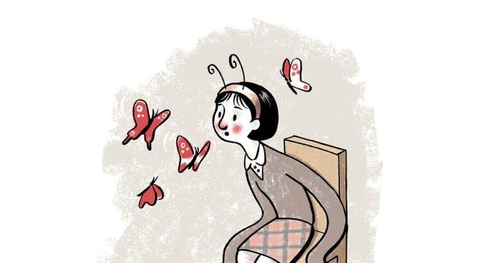 La mariposa no vuela. Ilustración: José Miguel de la Peña.