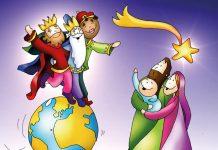 Reyes Magos. Ilustración: Fano