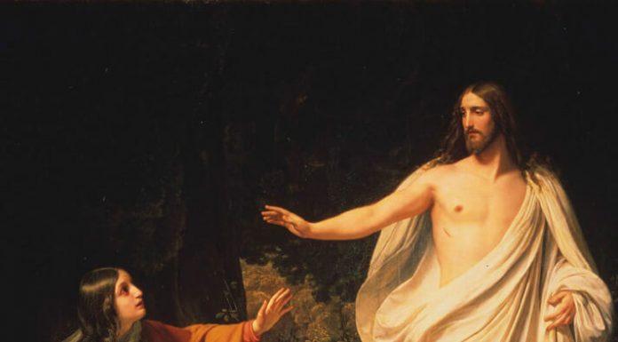 Alexander Ivanov «La aparición de Cristo a María Magdalena» (1835)