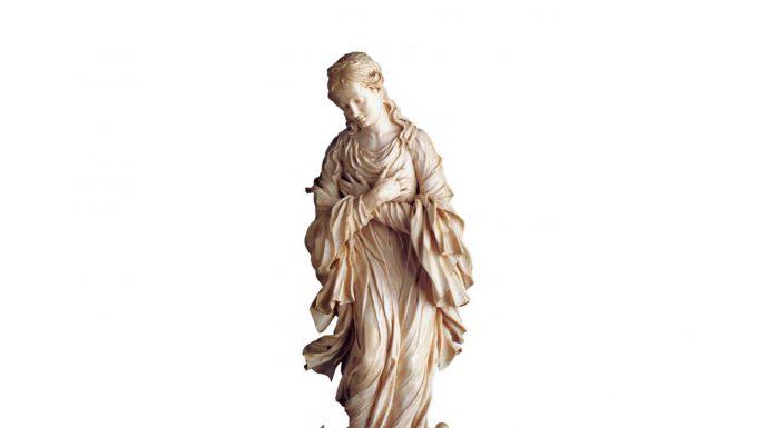 Virgen de marfil