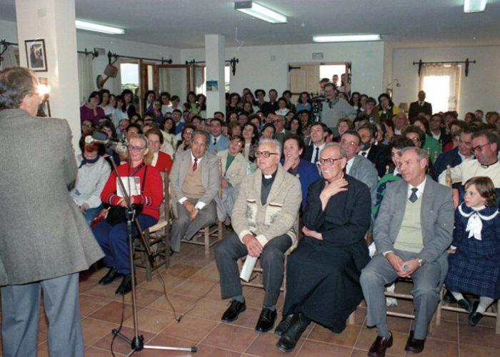 1987, Aidamar, homenaje al P. Morales