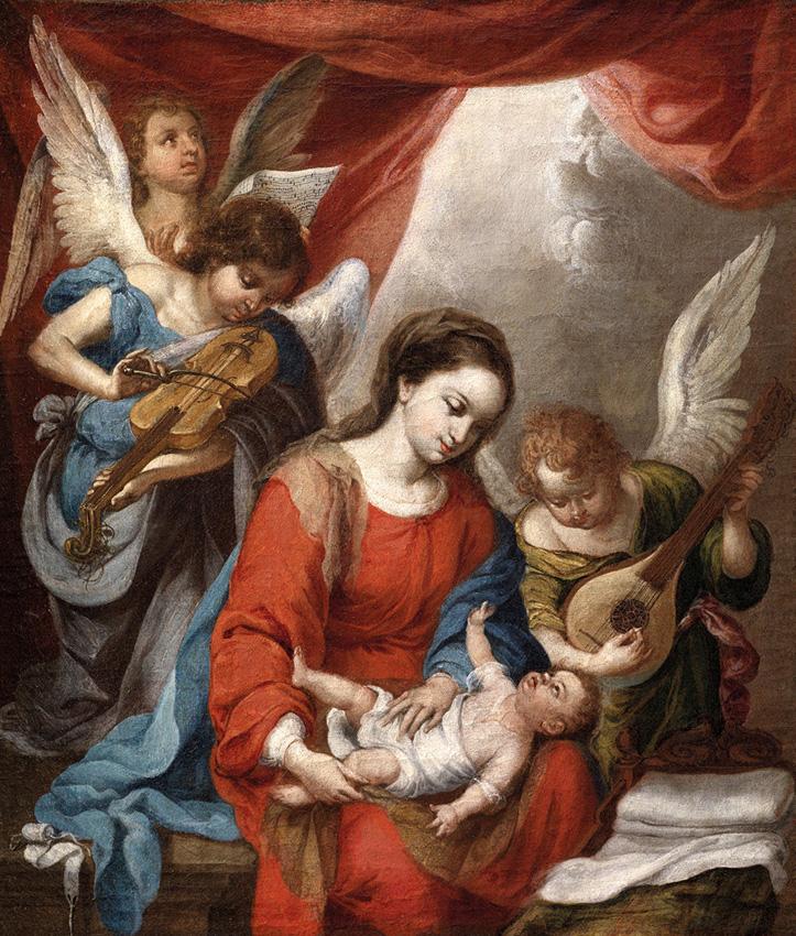 Virgen de la faja, Murillo