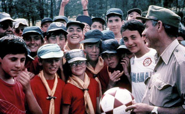 Campamento de juveniles en Santiago de Aravalle (Ávila)