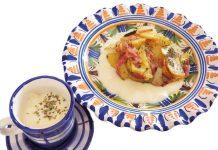 Patatas al horno con salsa bechamel