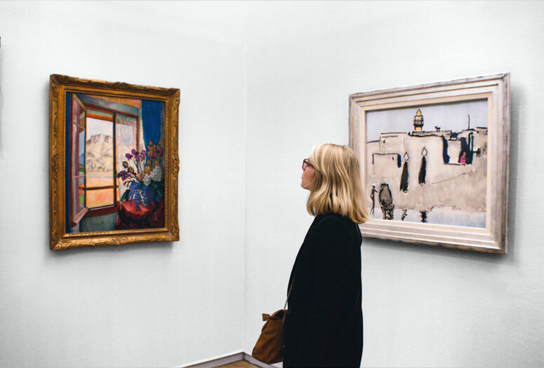 Saber mirar a través del arte