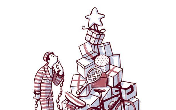 Consumismo. Ilustración: José Miguel de la Peña