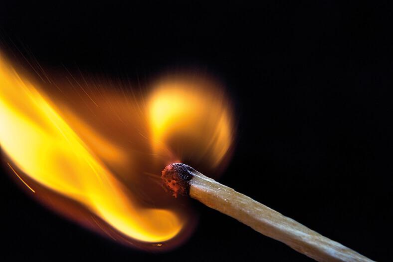 Fuego. Foto: Harut Movsisyan